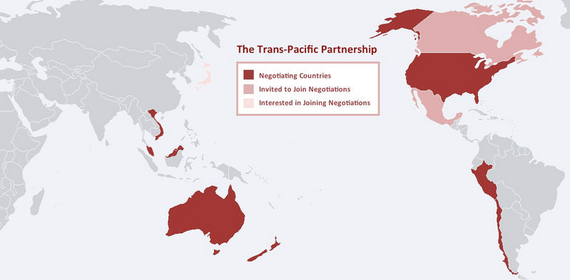 Trans Pacific Partnership Is About Control Not Free Trade